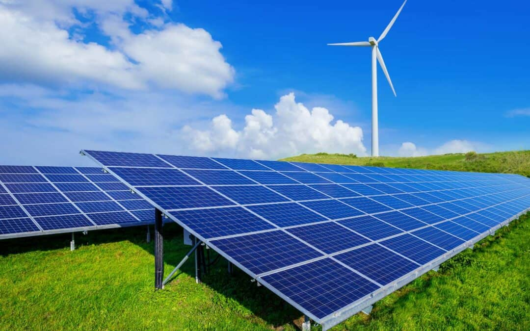Renewable energy. It's the future of power. And it's the solution for sustainability.